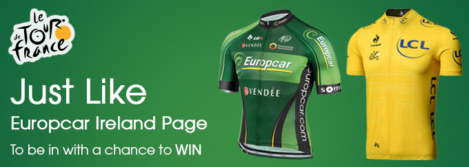 europcar facebook competition tour de france. Black Bedroom Furniture Sets. Home Design Ideas