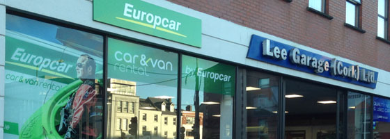 Photo of Eurocar office in Cork City