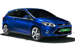 Europcar rental car ford focus 3 door