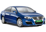 Europcar rental car VW Passat